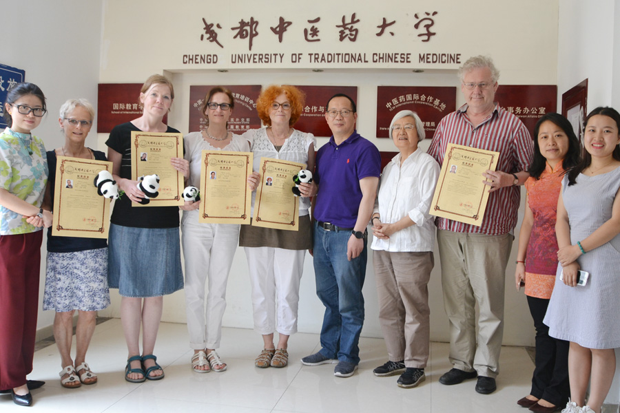Judith Misch an der University of Traditional Chinese Medicine